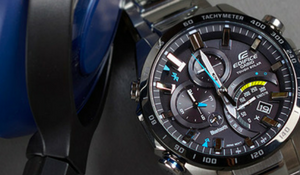 Heren horloge Casio Edifice EQB501 solar powered bluetooth