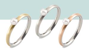 Titanium Boccia ringen met parel