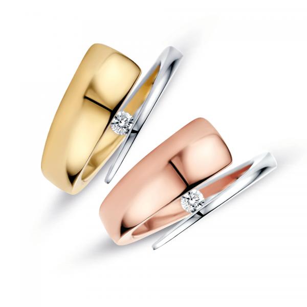 R&C groeibriljant ring model Alix