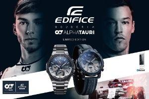 Edifice AlphaTauri limited editions