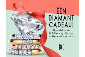 R&C actie één diamant cadeau!